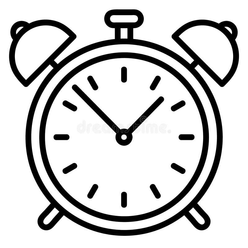 Wekker vectoreps Hand getrokken Crafteroks svg vrij, vrij svgdossier, eps, dxf, vector, embleem, silhouet, pictogram, onmiddellij vector illustratie
