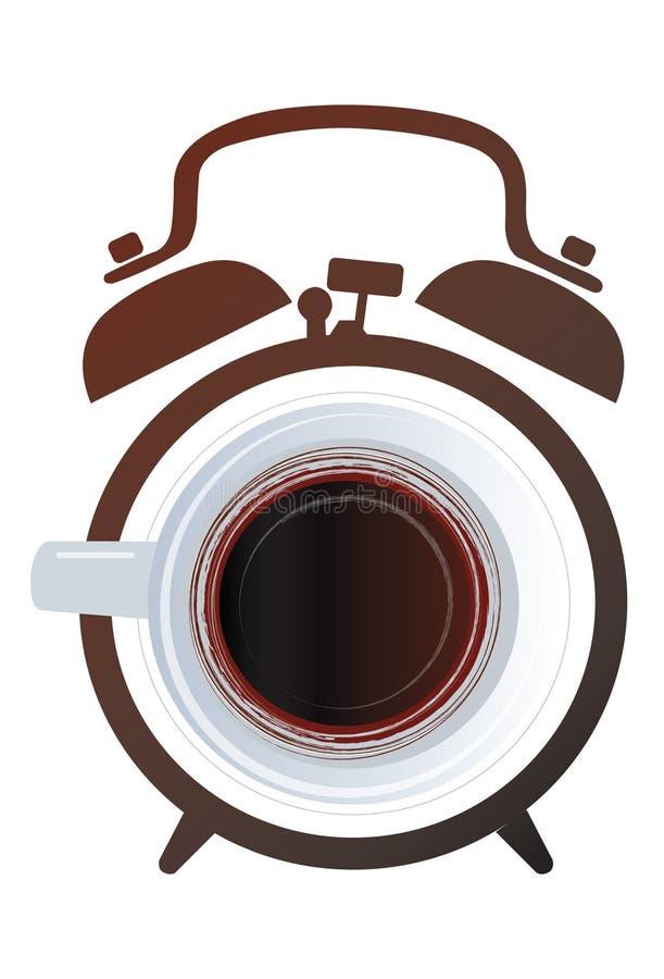 Wekkerkoffie royalty-vrije stock fotografie