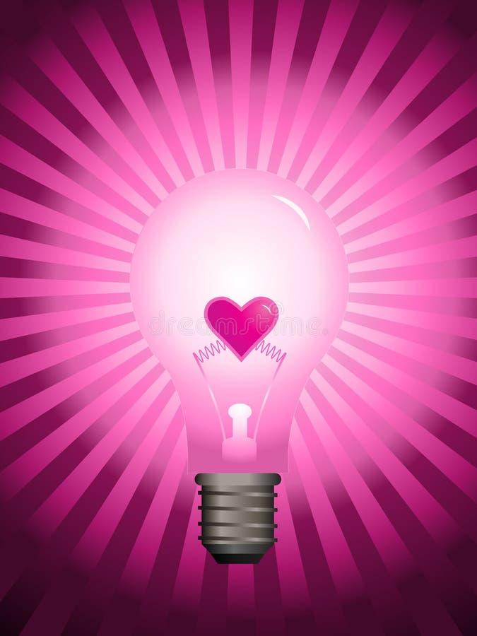 wektor światła żarówki ilustracji