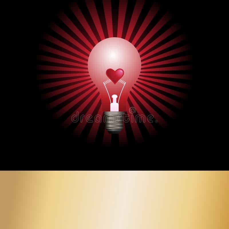 wektor światła żarówki ilustracja wektor