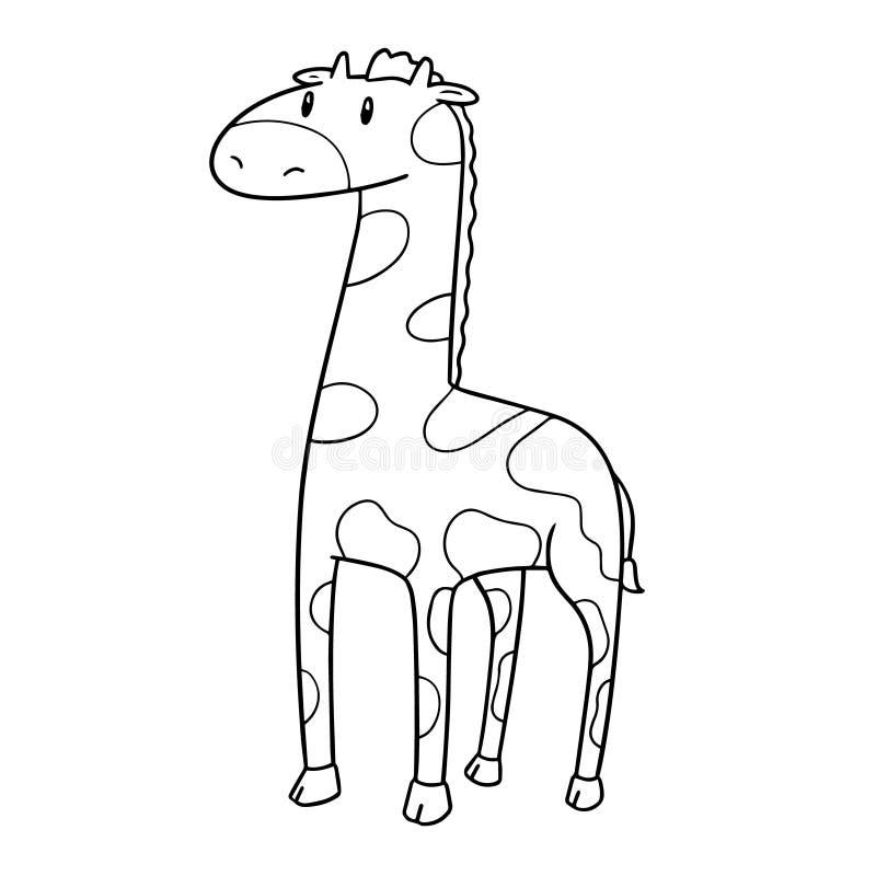 Wektor żyrafa ilustracji