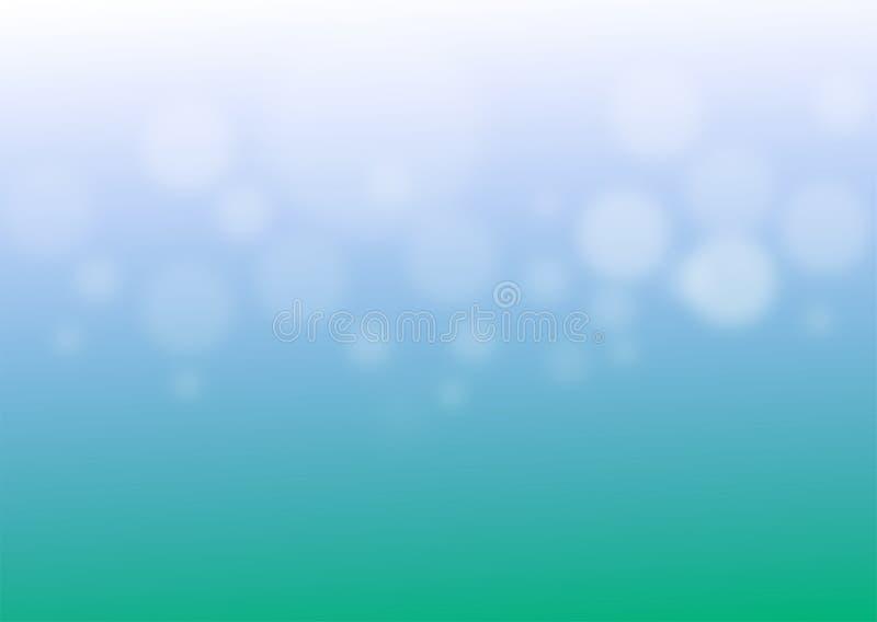 Wektor abstrakcjonistyczna łączliwość na zielonym tła tle ilustracja wektor