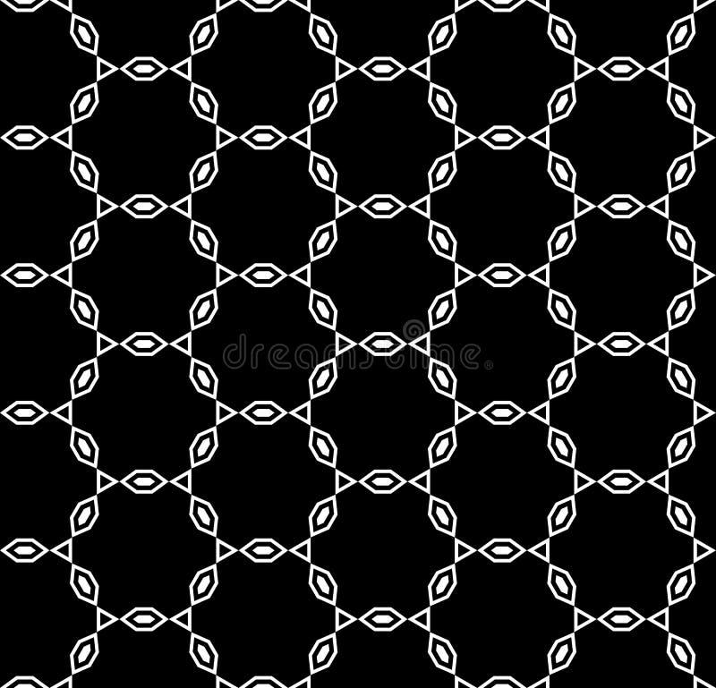 wektor bezszwowy wzoru Łańcuszkowa ornament tekstura ilustracja wektor