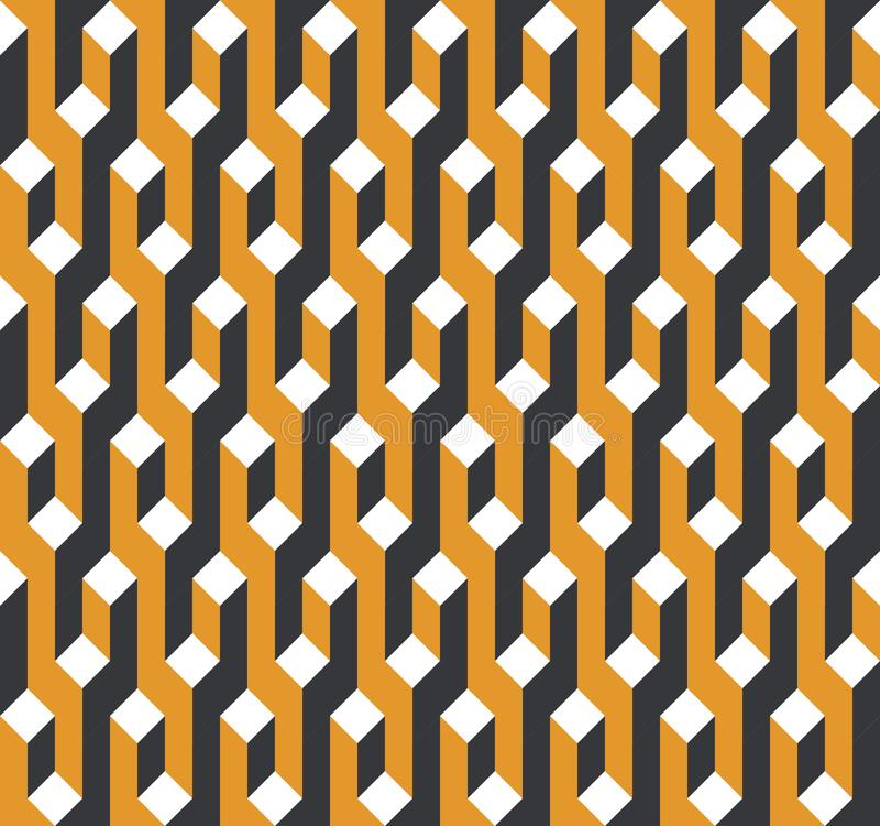 wektor bezszwowy wzoru Nowożytna elegancka abstrakcjonistyczna tekstura royalty ilustracja