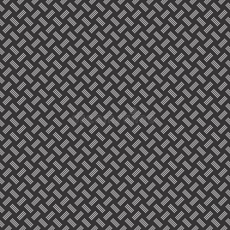 wektor bezszwowy wzoru Nowożytna elegancka abstrakcjonistyczna tekstura Wielostrzałowe geometryczne płytki Niekończący się, szyk ilustracji
