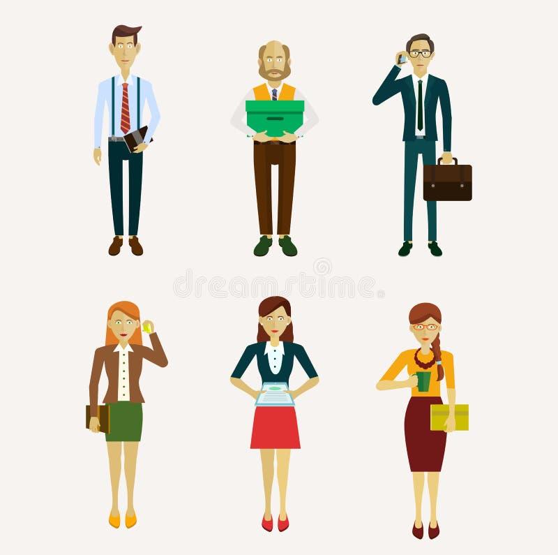 Wektor dla ludzi biznesu ilustracji