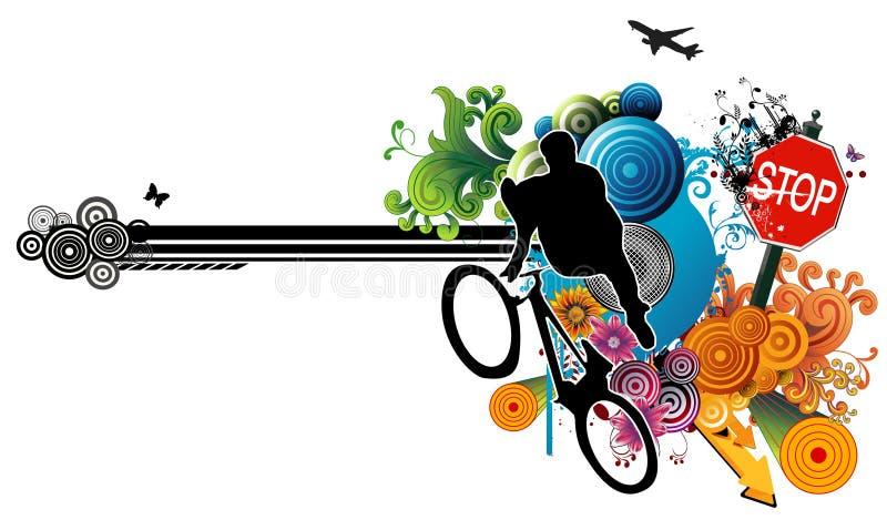 wektor ekstremalne sportu ilustracja wektor