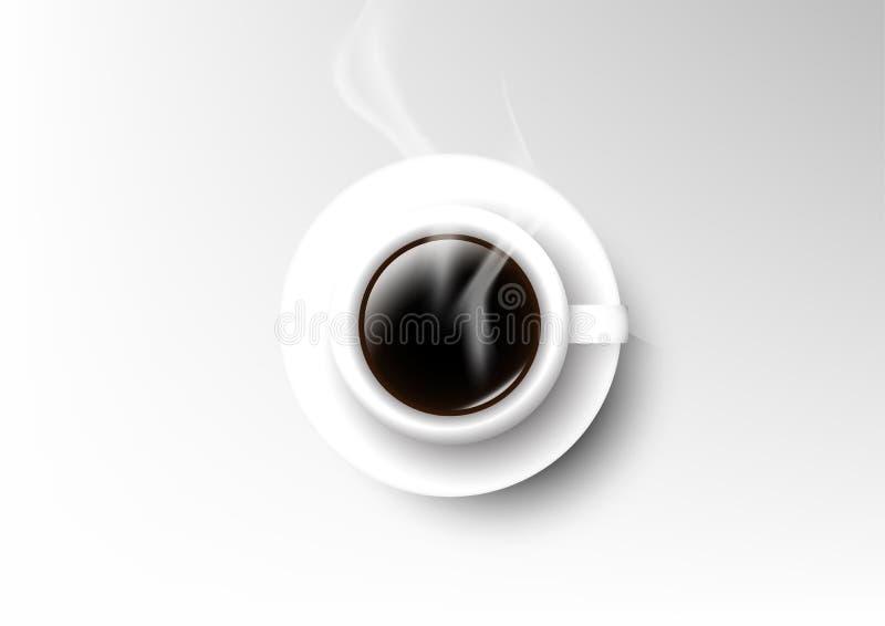 Wektor filiżanki kawy odosobniona kolekcja, americano ilustracja wektor