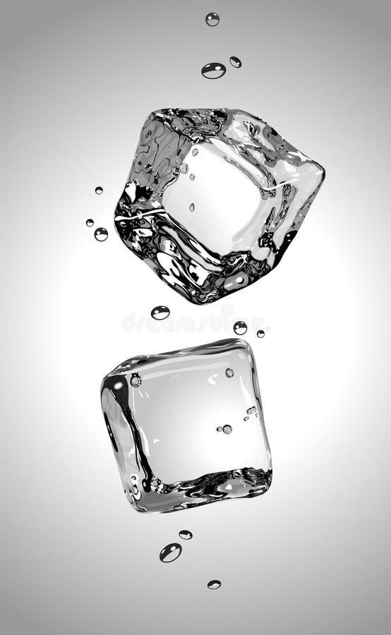 Download Wektor ice cube 2 EPS10 ilustracja wektor. Ilustracja złożonej z lód - 57669390