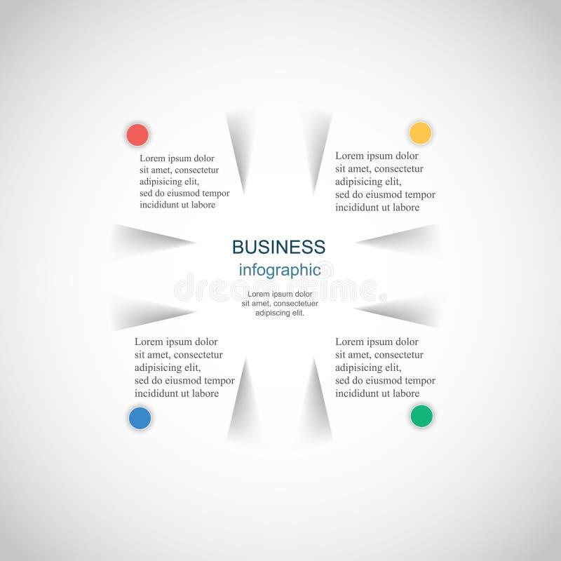 Wektor infographic ilustracja wektor