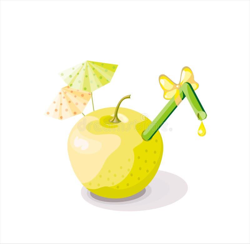 wektor jabłkowego obrazy royalty free