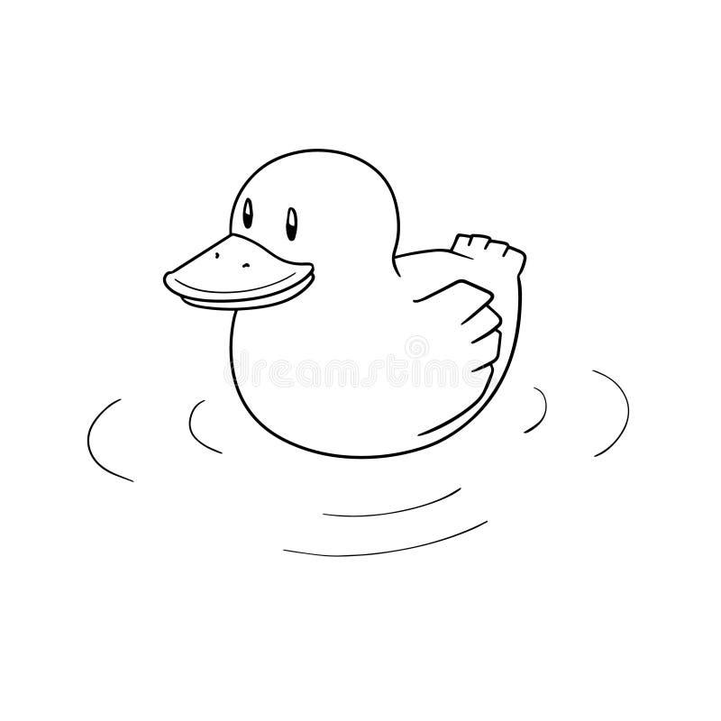 Wektor kaczka ilustracji
