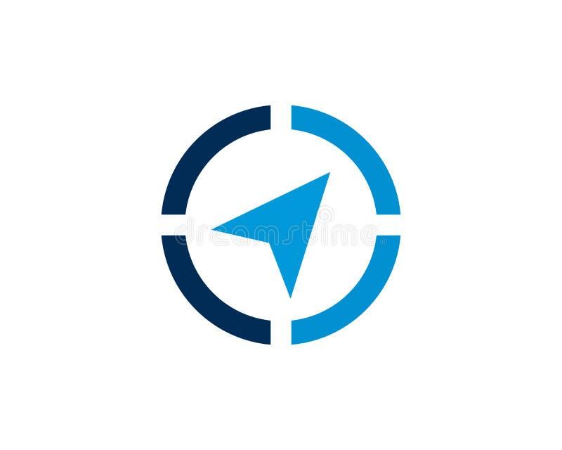 Wektor - kompasów symboli/lów i znaków logo obrazy stock