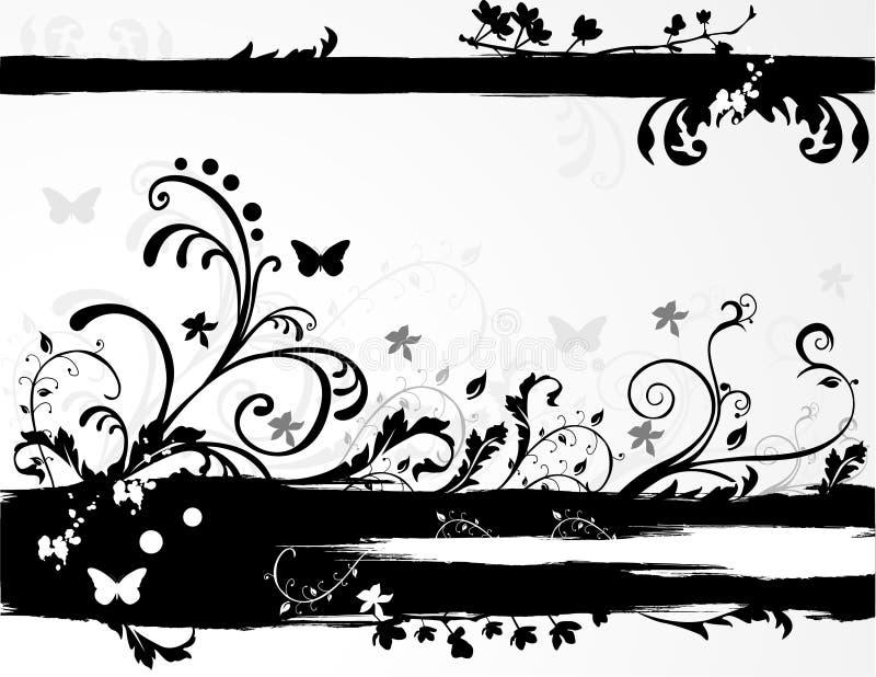 wektor kwiecisty abstrakcyjne ilustracja wektor
