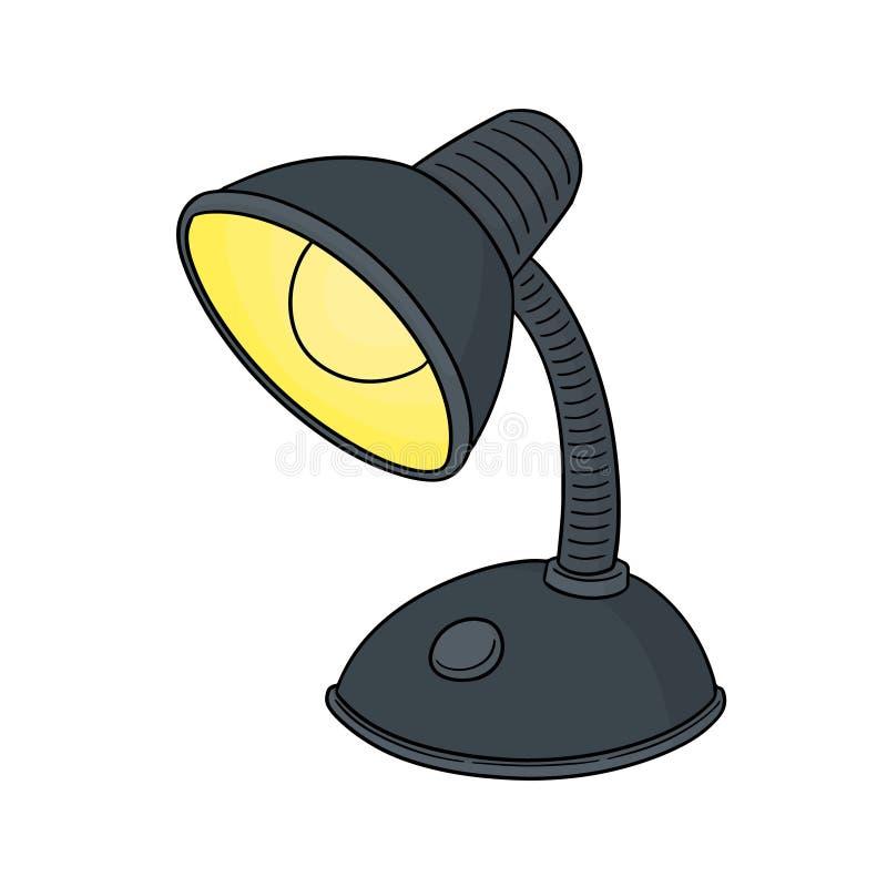 Wektor lampa ilustracji
