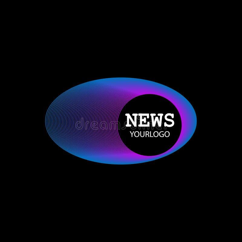 Wektor logo wiadomości symbol ilustracja wektor