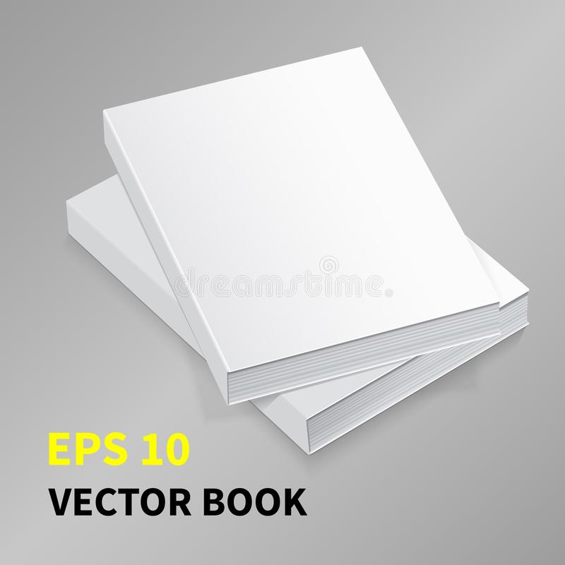 Wektor Papierowy Book-01 royalty ilustracja