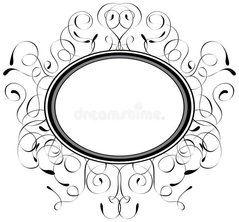 wektor ramowy dekoracyjny ilustracji