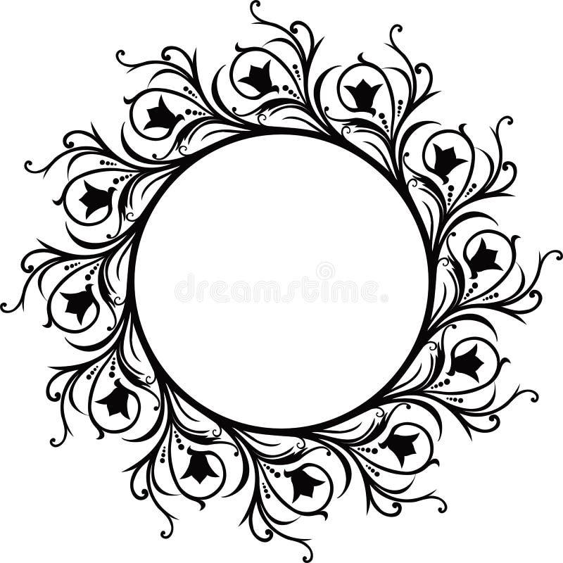 wektor ramowy dekoracyjny royalty ilustracja