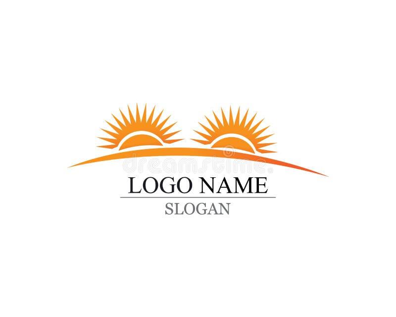 Wektor - słońce wybuchu gwiazdy ikony symbole i logo obrazy stock