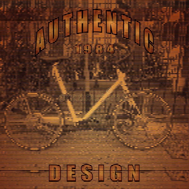 Wektor stylizujący roweru plakat ilustracja wektor