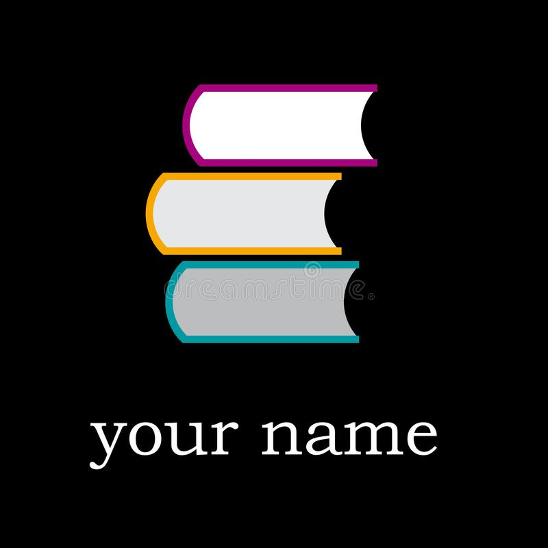 Wektor szyldowa księgarnia ilustracja wektor