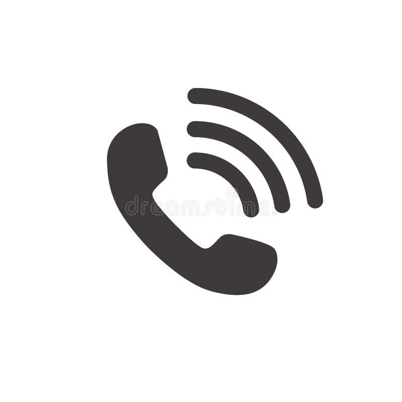 Wektor telefoniczna ikona royalty ilustracja