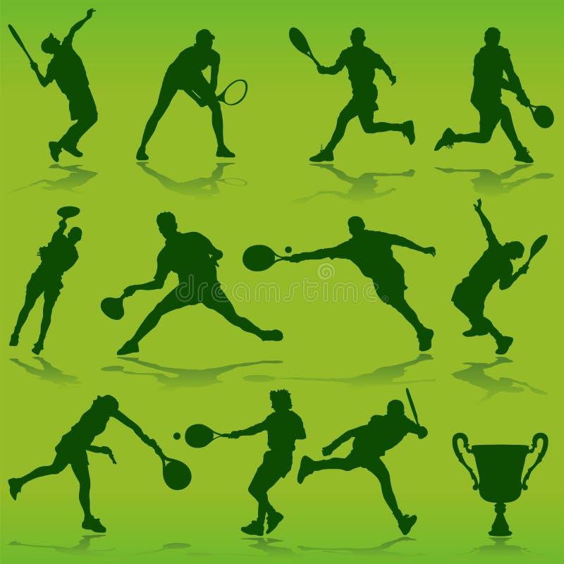 wektor tenisowy ilustracji