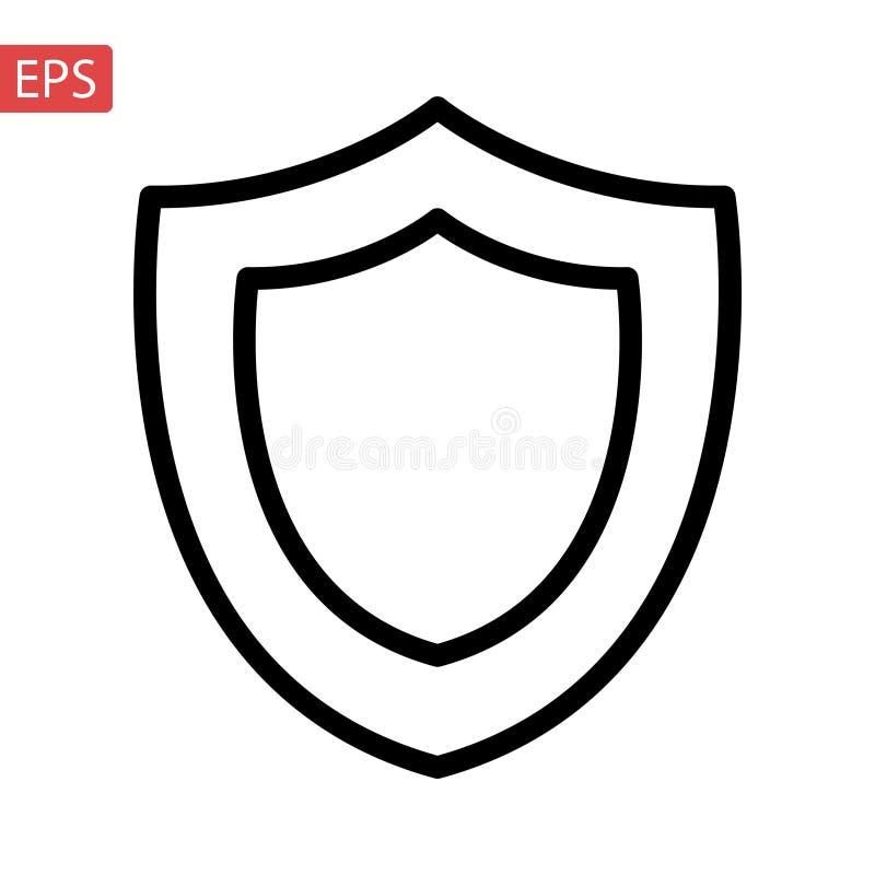 wektor, wypełniający mieszkanie znak, bryła odizolowywająca na bielu Symbol, logo ilustracja Piksel Perfect ilustracji