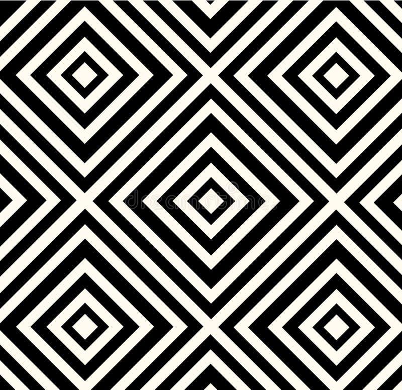 Wektorowa Abstrakcjonistyczna Plemienna Etniczna Deseniowa tło ilustracja ilustracji