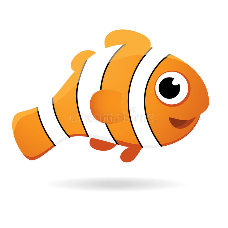 Wektorowa błazen ryba fotografia stock