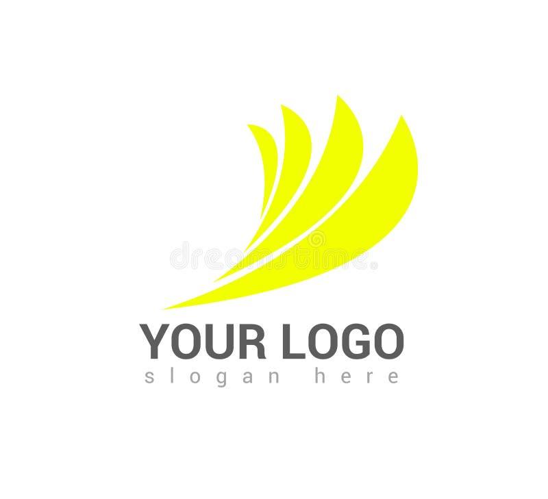 Wektorowa biznesowa logo szablonu pojęcia ilustracja ilustracja wektor