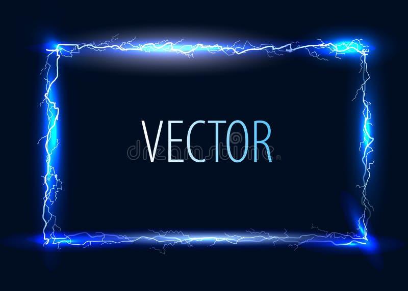 Wektorowa elektryczna rama ilustracja wektor