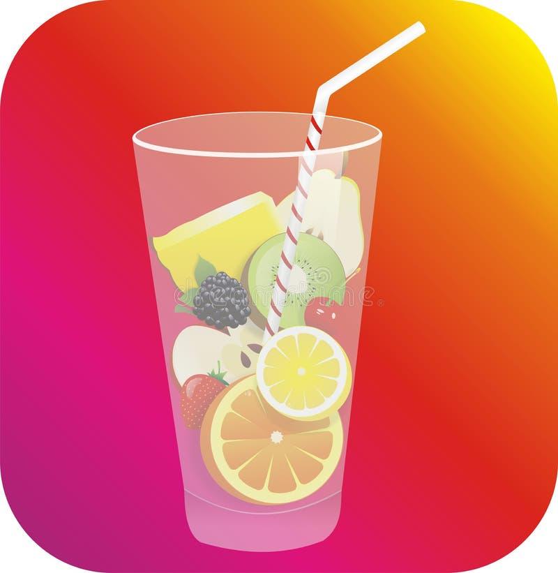 Download Wektorowa ikony filiżanka ilustracja wektor. Ilustracja złożonej z ananas - 57651395