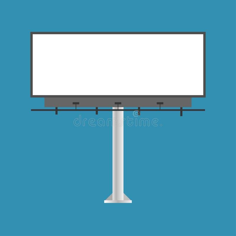 Wektorowa ilustracja autostrada sztandar dla reklamy Reklama sztandar