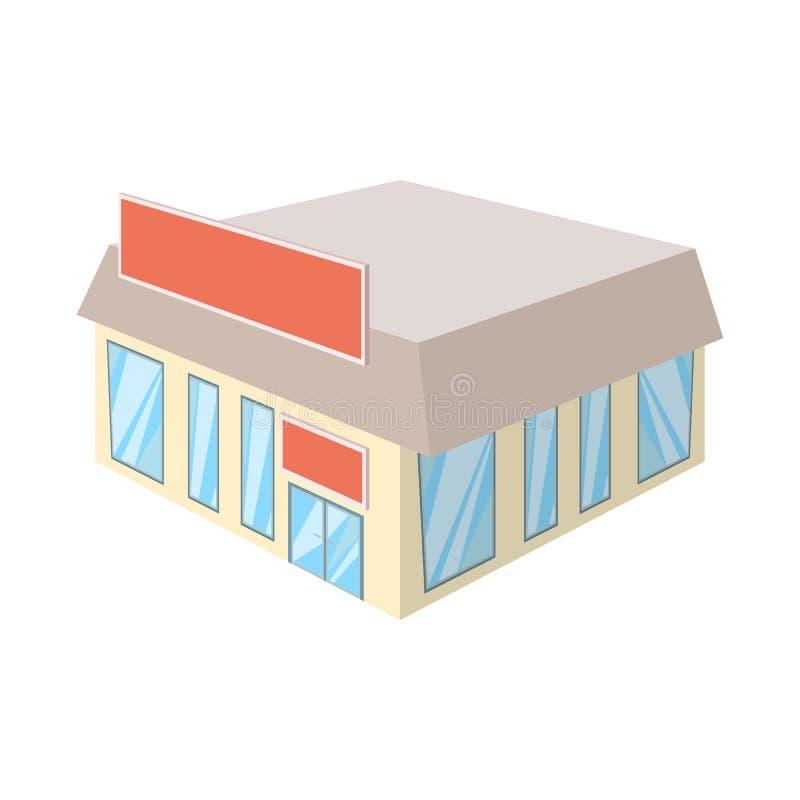 Wektorowa ilustracja bookstore i rynku ikona Set bookstore i handlowy akcyjny symbol dla sieci royalty ilustracja