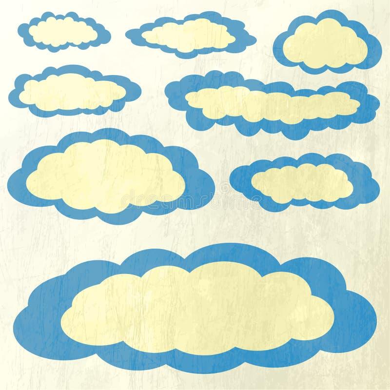 Download Wektorowa Ilustracja Chmury Inkasowe Ilustracja Wektor - Ilustracja złożonej z prezentacja, cloudscape: 42525776