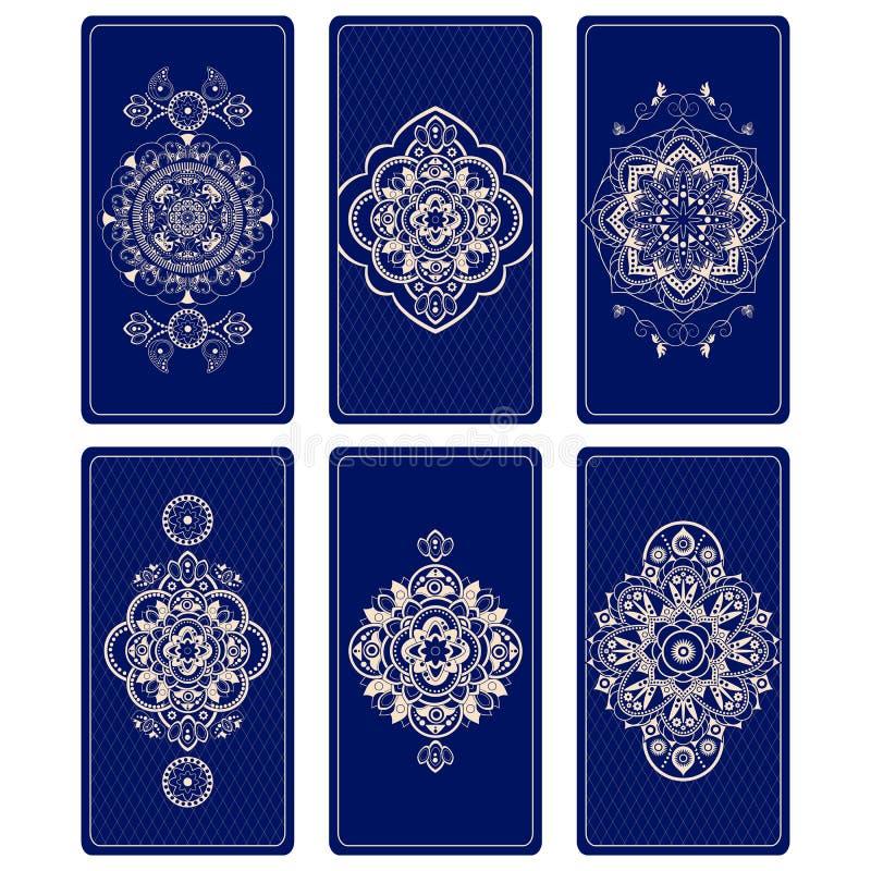 Wektorowa ilustracja dla Tarot kart royalty ilustracja