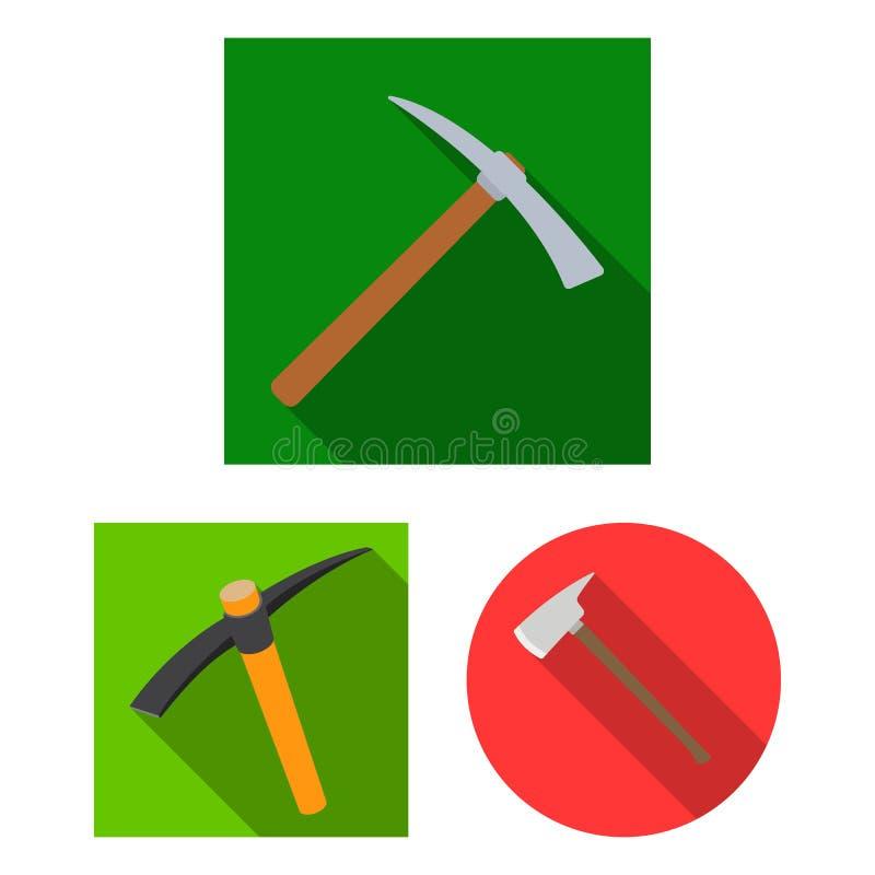 Wektorowa ilustracja i ax ikona Kolekcja i krzyżująca akcyjna wektorowa ilustracja ilustracja wektor
