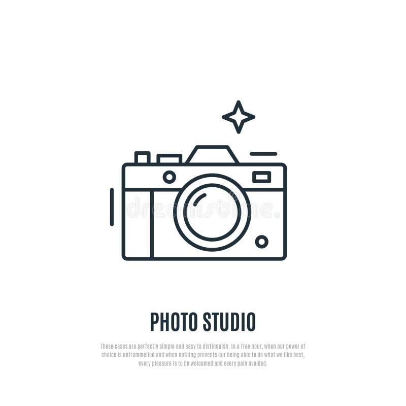 Wektorowa ilustracja kamera Kreskowej sztuki styl ilustracji