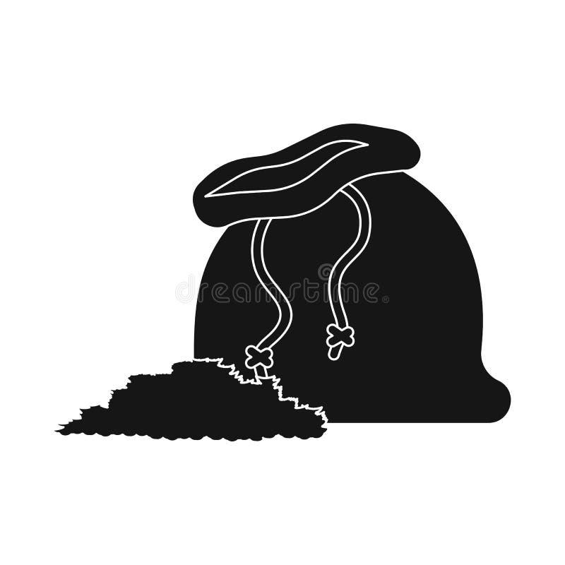 Wektorowa ilustracja kieszonki i produktu znak Kolekcja kieszonki i torby akcyjna wektorowa ilustracja ilustracja wektor