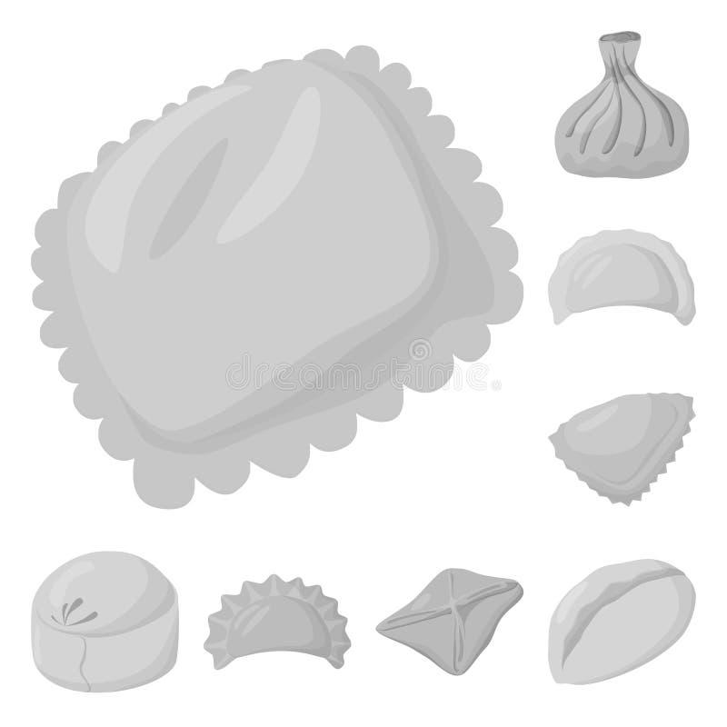 Wektorowa ilustracja kluchy i faszeruj?cy logo Kolekcja kluchy i naczynie akcyjny symbol dla sieci ilustracji