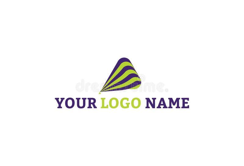 Wektorowa ilustracja kolorowy logo projekt ilustracja wektor
