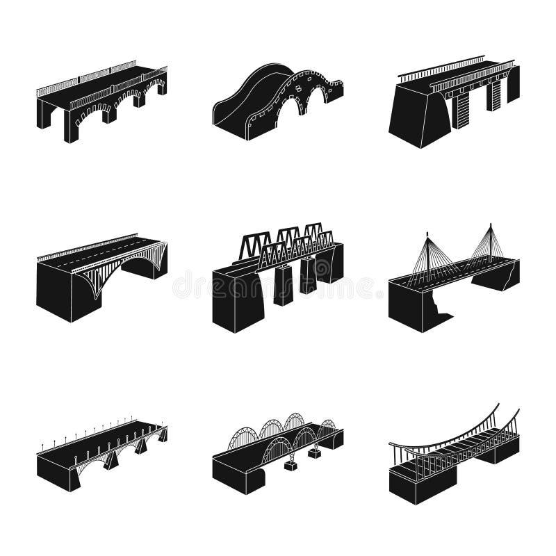 Wektorowa ilustracja konstrukcji i strony symbol Kolekcja konstrukcji i architektury akcyjny symbol dla sieci royalty ilustracja