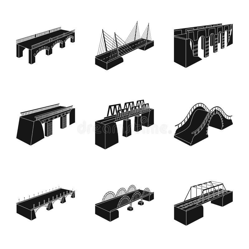 Wektorowa ilustracja konstrukcji i strony symbol Set konstrukcji i architektury akcyjna wektorowa ilustracja ilustracji