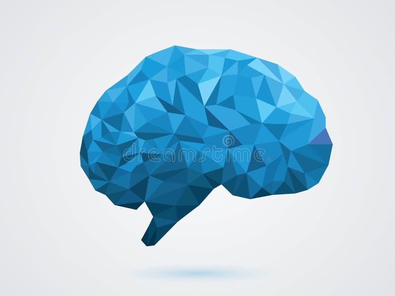 Wektorowa ilustracja mózg royalty ilustracja