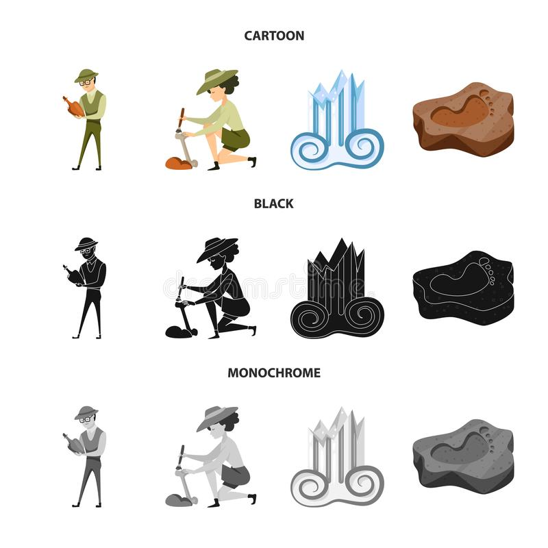 Wektorowa ilustracja opowie?ci i rzeczy symbol Set opowie?? i atrybuty zaopatrujemy wektorow? ilustracj? ilustracji