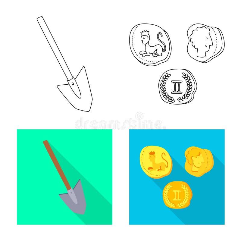 Wektorowa ilustracja opowie?ci i rzeczy symbol Set opowie?? i atrybuty zaopatrujemy wektorow? ilustracj? ilustracja wektor