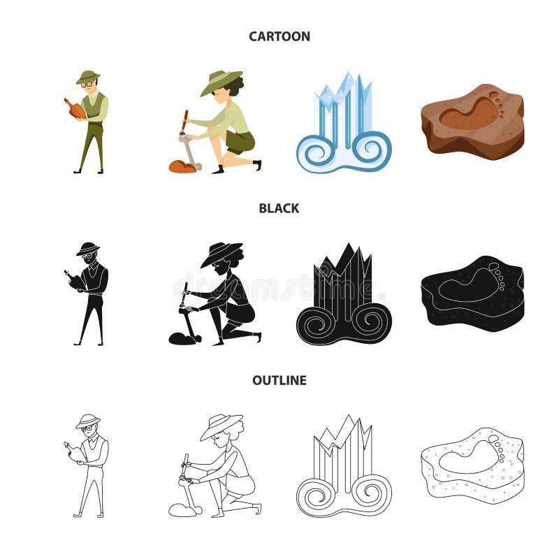 Wektorowa ilustracja opowie?? i rzeczy ikona Kolekcja opowie?ci i atrybut?w akcyjny symbol dla sieci ilustracja wektor