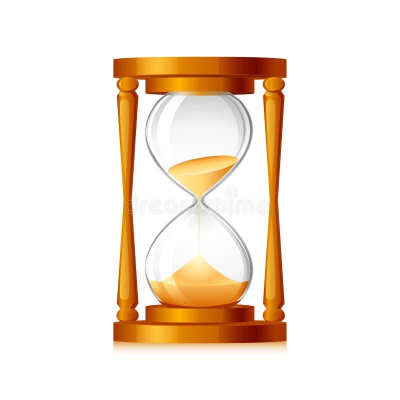 Wektorowy Hourglass ilustracji